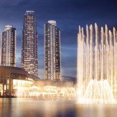Отель Address Fountain Views Дубай вид на фасад