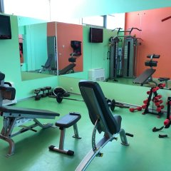 Гостиница Золотой Затон фитнесс-зал фото 2