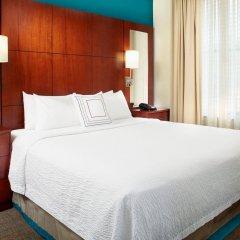 Отель Residence Inn by Marriott Columbus Downtown США, Колумбус - отзывы, цены и фото номеров - забронировать отель Residence Inn by Marriott Columbus Downtown онлайн комната для гостей фото 2