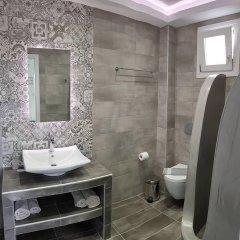 Отель Moonlight Apartments Греция, Остров Санторини - отзывы, цены и фото номеров - забронировать отель Moonlight Apartments онлайн ванная