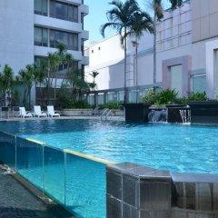 Peninsula Excelsior Hotel Сингапур бассейн фото 2