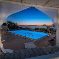 Отель Aria Villa Греция, Закинф - отзывы, цены и фото номеров - забронировать отель Aria Villa онлайн бассейн фото 3