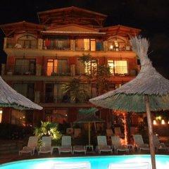 Отель Family hotel Tropicana Болгария, Равда - отзывы, цены и фото номеров - забронировать отель Family hotel Tropicana онлайн бассейн фото 3