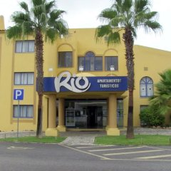 Отель Apartamentos Rio Португалия, Виламура - отзывы, цены и фото номеров - забронировать отель Apartamentos Rio онлайн парковка