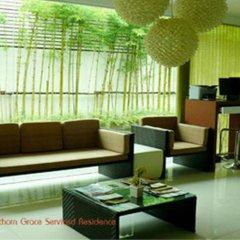 Отель Sathorn Grace Serviced Residence Таиланд, Бангкок - отзывы, цены и фото номеров - забронировать отель Sathorn Grace Serviced Residence онлайн интерьер отеля