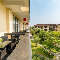 Отель Phu Thinh Boutique Resort And Spa Хойан балкон