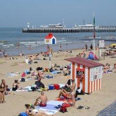 Отель Ter Streep Бельгия, Остенде - отзывы, цены и фото номеров - забронировать отель Ter Streep онлайн пляж