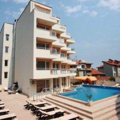 Отель Obzor City Hotel Болгария, Аврен - отзывы, цены и фото номеров - забронировать отель Obzor City Hotel онлайн бассейн фото 2