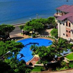 Отель Ky Hoa Hotel Vung Tau Вьетнам, Вунгтау - отзывы, цены и фото номеров - забронировать отель Ky Hoa Hotel Vung Tau онлайн балкон