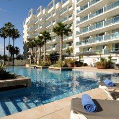Отель Blaumar Hotel Salou Испания, Салоу - 7 отзывов об отеле, цены и фото номеров - забронировать отель Blaumar Hotel Salou онлайн бассейн