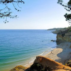 Отель Balaia Golf Village Португалия, Албуфейра - 1 отзыв об отеле, цены и фото номеров - забронировать отель Balaia Golf Village онлайн пляж фото 2
