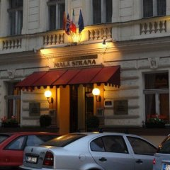 Отель Residence Mala Strana Прага парковка
