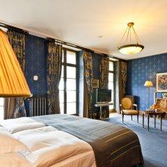Grand Hotel Les Trois Rois комната для гостей