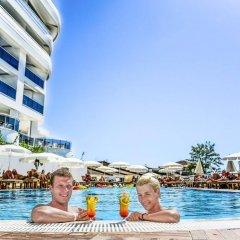 Отель Laguna Beach Alya Resort & SPA - All Inclusive Окурджалар бассейн фото 2