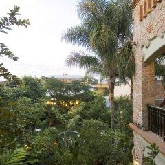 Отель Casa de las Flores Мексика, Тлакуепакуе - отзывы, цены и фото номеров - забронировать отель Casa de las Flores онлайн балкон