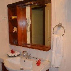 Отель Green Lodge Moorea Французская Полинезия, Папеэте - отзывы, цены и фото номеров - забронировать отель Green Lodge Moorea онлайн ванная фото 2