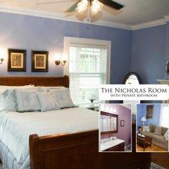 Отель Hawthorne Park Bed and Breakfast США, Колумбус - отзывы, цены и фото номеров - забронировать отель Hawthorne Park Bed and Breakfast онлайн комната для гостей