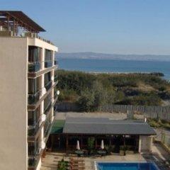 Отель Pomorie Bay Apart Hotel Болгария, Поморие - отзывы, цены и фото номеров - забронировать отель Pomorie Bay Apart Hotel онлайн пляж фото 2