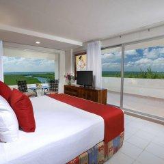 Отель Oasis Palm Hotel Мексика, Канкун - 9 отзывов об отеле, цены и фото номеров - забронировать отель Oasis Palm Hotel онлайн комната для гостей фото 3
