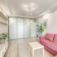 Апартаменты Domumetro Apartment on Varshavskoye комната для гостей фото 2
