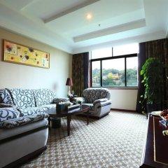 Отель Peony Wanpeng Hotel - Xiamen Китай, Сямынь - отзывы, цены и фото номеров - забронировать отель Peony Wanpeng Hotel - Xiamen онлайн комната для гостей фото 2