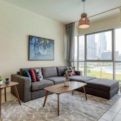 Отель Premium Apt - Full Burj Khalifa & Fountain View! Дубай фото 3