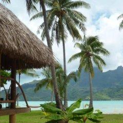Отель Pension Alice et Raphael Bora-Bora Французская Полинезия, Бора-Бора - отзывы, цены и фото номеров - забронировать отель Pension Alice et Raphael Bora-Bora онлайн пляж