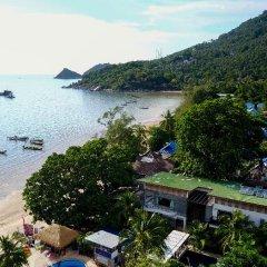 Отель Sairee Hut Resort Таиланд, Остров Тау - отзывы, цены и фото номеров - забронировать отель Sairee Hut Resort онлайн терраса/патио