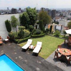 Отель Best Western Royal Zona Rosa Мексика, Мехико - отзывы, цены и фото номеров - забронировать отель Best Western Royal Zona Rosa онлайн бассейн