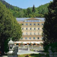 Отель Parkhotel Richmond вид на фасад фото 2