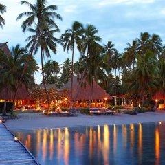 Отель Jean-Michel Cousteau Resort Савусаву приотельная территория