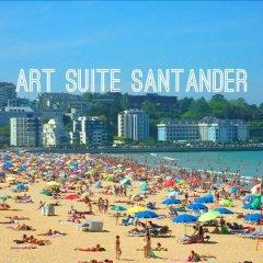 Отель Art Suites Santander пляж