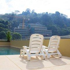 Отель 88 Hotel Phuket Таиланд, Карон-Бич - 1 отзыв об отеле, цены и фото номеров - забронировать отель 88 Hotel Phuket онлайн балкон