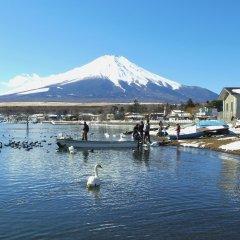Отель ZERO-Project Japan GuestHouse Яманакако приотельная территория
