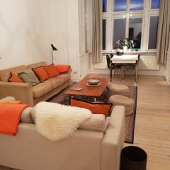 Апартаменты Classic Copenhagen City Apartment Копенгаген комната для гостей фото 5