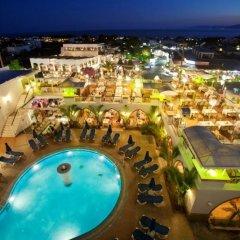 Отель Pefkos Beach бассейн
