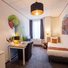 Отель Amsterdam Teleport Hotel Нидерланды, Амстердам - 5 отзывов об отеле, цены и фото номеров - забронировать отель Amsterdam Teleport Hotel онлайн комната для гостей фото 2