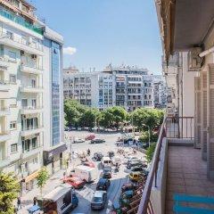 Отель Danae Apartment by QR booking Греция, Салоники - отзывы, цены и фото номеров - забронировать отель Danae Apartment by QR booking онлайн балкон