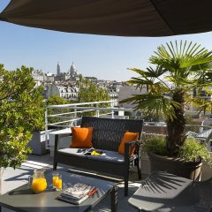 Отель Citadines Montmartre Paris балкон