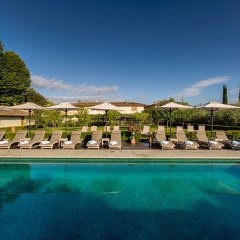 Отель Villa Olmi Firenze бассейн
