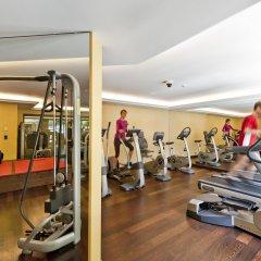 Отель Le Grand Bellevue фитнесс-зал