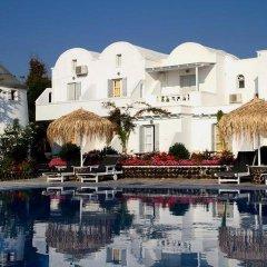 Отель Mediterranean Beach Palace Hotel Греция, Остров Санторини - отзывы, цены и фото номеров - забронировать отель Mediterranean Beach Palace Hotel онлайн приотельная территория фото 2