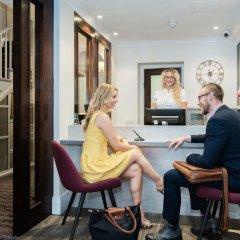 Отель Blandford Hotel Великобритания, Лондон - отзывы, цены и фото номеров - забронировать отель Blandford Hotel онлайн интерьер отеля