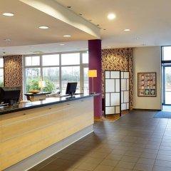 Отель Holiday Inn Express Duesseldorf City Nord Германия, Дюссельдорф - 12 отзывов об отеле, цены и фото номеров - забронировать отель Holiday Inn Express Duesseldorf City Nord онлайн интерьер отеля фото 2
