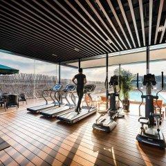 Отель Novotel Shanghai Clover фитнесс-зал