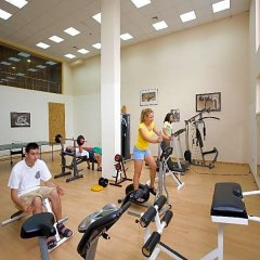 Atlas Hotel - Ultra All Inclusive фитнесс-зал фото 3