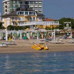 Отель Roma Италия, Риччоне - отзывы, цены и фото номеров - забронировать отель Roma онлайн пляж фото 2