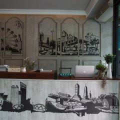 Pama House Boutique Hostel Бангкок гостиничный бар