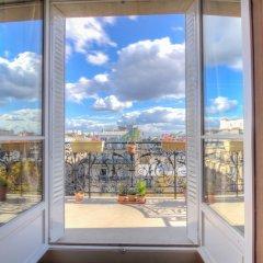 Отель Leclerc A Франция, Париж - отзывы, цены и фото номеров - забронировать отель Leclerc A онлайн балкон