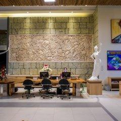 Отель Villa Cha-Cha Krabi Beachfront Resort Таиланд, Краби - отзывы, цены и фото номеров - забронировать отель Villa Cha-Cha Krabi Beachfront Resort онлайн интерьер отеля фото 3